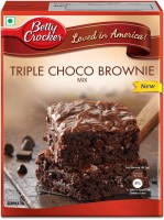 Betty Crocker Triple Choco Brownie Mix 425 g