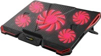 Cosmic Byte Asteroid Upto 17.3''Laptop 5 Fan Cooling Pad(Red)