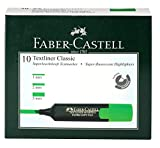 Faber-Castell Textliner - Pack of 10 (Green)