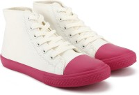 United Colors of Benetton. Boys & Girls Lace Sneakers(Pink)