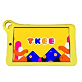 Alcatel TKEE MID Tablet with Google Voice Assistant (8inch, 2GB+32GB, Wi-Fi + 4G Calling, Android 10, Type C Charging), Yellow