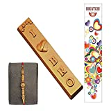 BOGATCHI RAKHI WITH CHOCOLATES, RAKHI GIFT HAMPER, RAKHI WITH SWEETS, LOVE YOU BRO, FREE RAKHI, HAPPY RAKHI CHOCOLATE, RAKHI CHOCOLATE GIFT, DARK CHOCOLATE, RAKHI GIFTS, RAKSHA BANDHAN GIFTS FOR BROTHER, 1 PIECE
