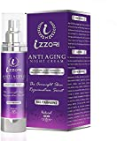 IZZORI PURE ANTI AGING DAY and NIGHT CREAM with HYALURONIC ACID, RETINOL, JOJOBA OIL, SHEABUTTER, VITAMIN E and B5 for FINE LINES, WRINKLES, DARK SPOTS, SKIN TIGHTENING & FIRMNESS (50 GM).