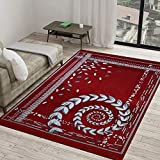 "Vaini 6D Designer Superfine Exclusive Velvet Carpet | Rug | Living Room | Bedroom | Hall | School | Temple | Bedside Runner | - |60"" inch x 84"" inch 